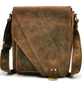 Hunter Hunters Leather Hunter's bag with holster cover (dark tan)