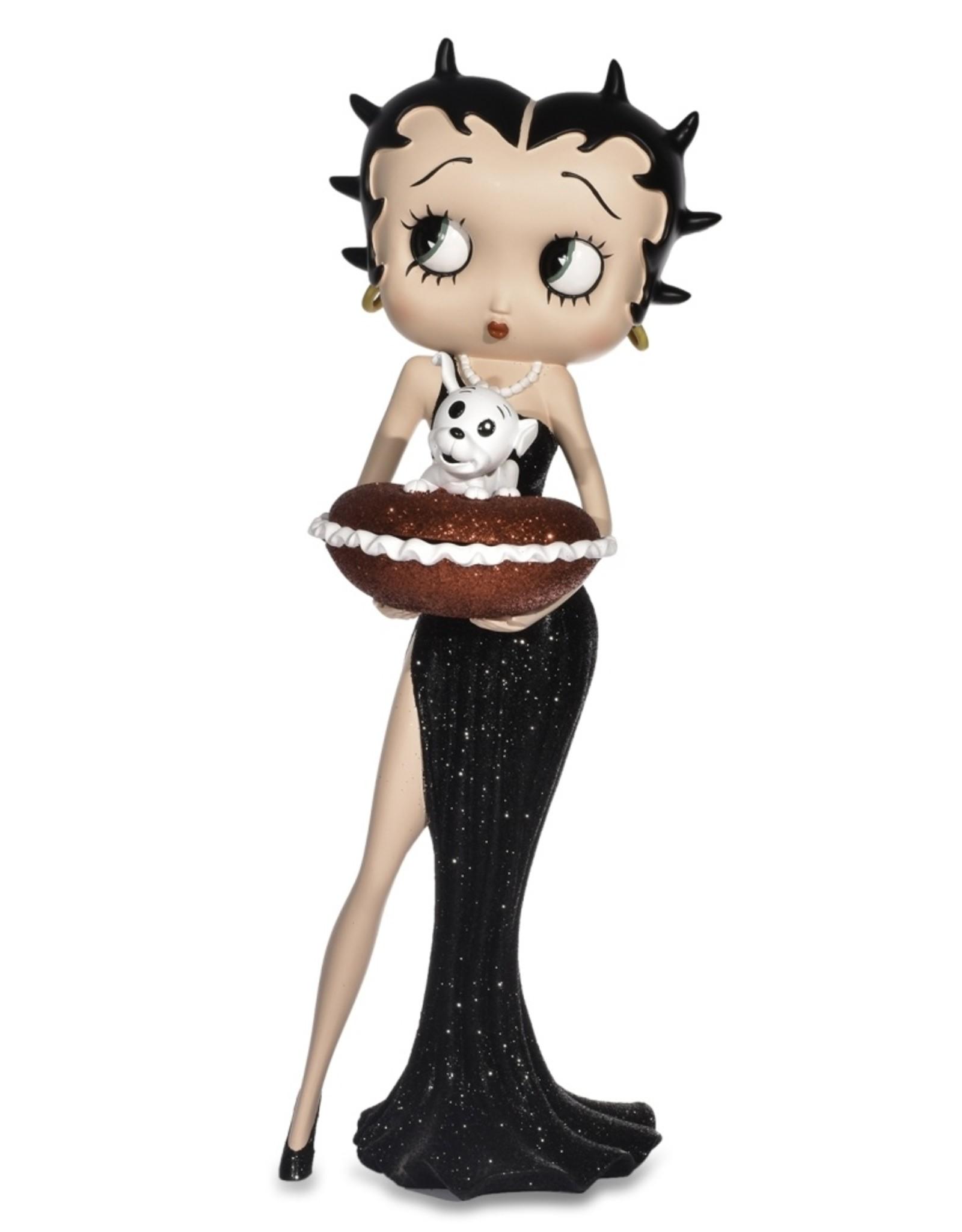 Betty Boop Betty Boop Collectables - Betty Boop met Rood Glitter Kussen doosje
