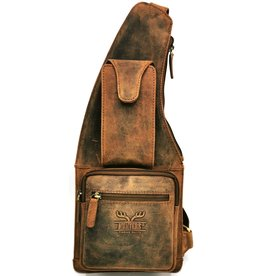 Hunters Hunters Crossbody Holster tas Buffelleer