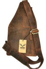 Hunters Leather Shoulder bags  Leather crossbody bags - Hunters Crossbody Holster bag Buffalo Leather