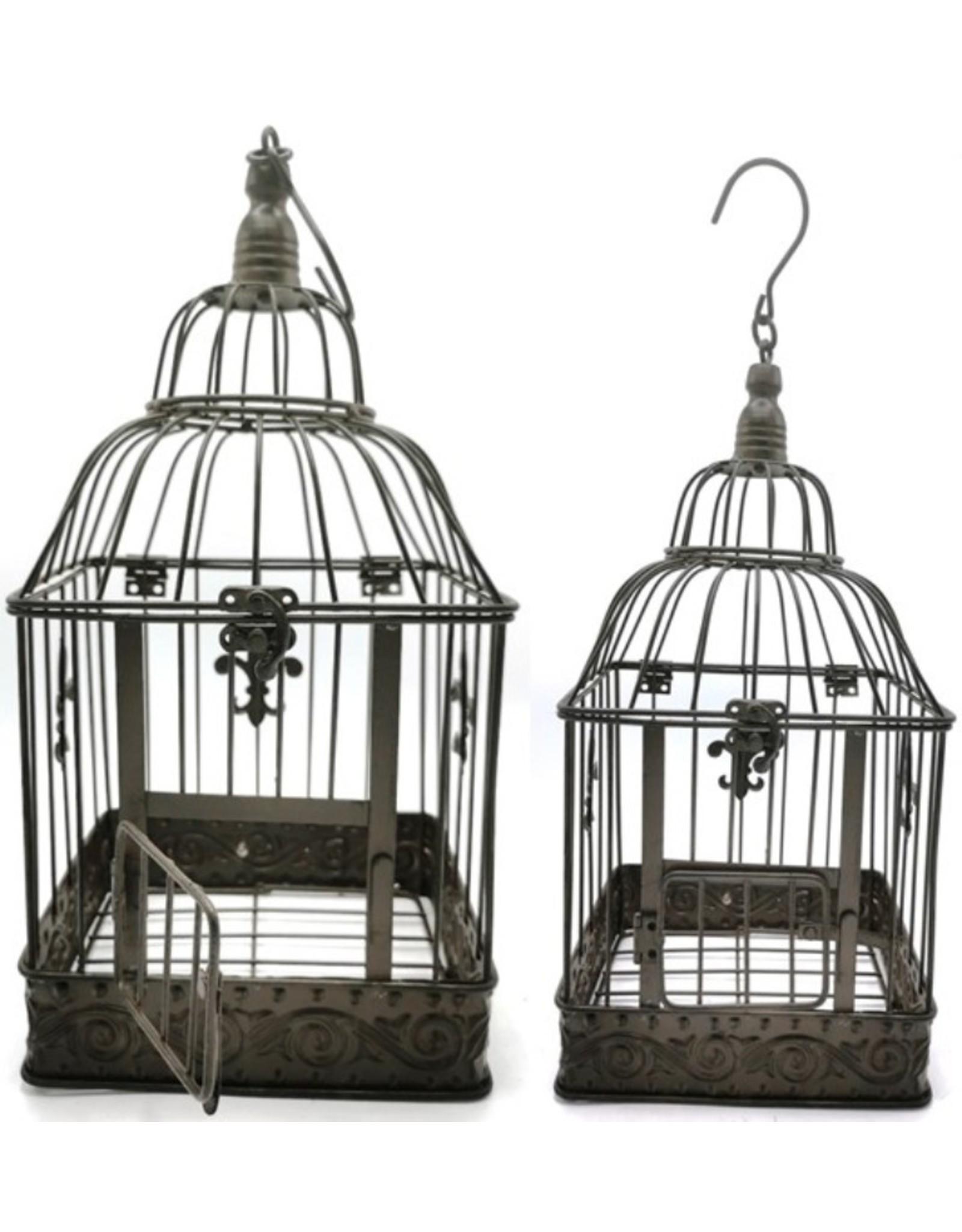 Metal Birdcage Vintage Look Set Of 2 Bags Boutique Trukado Bags Boutique Trukado