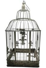 Decoratieve Vogelkooi Miscellaneous - Metalen Vogelkooi Vintage Look - Set van 2