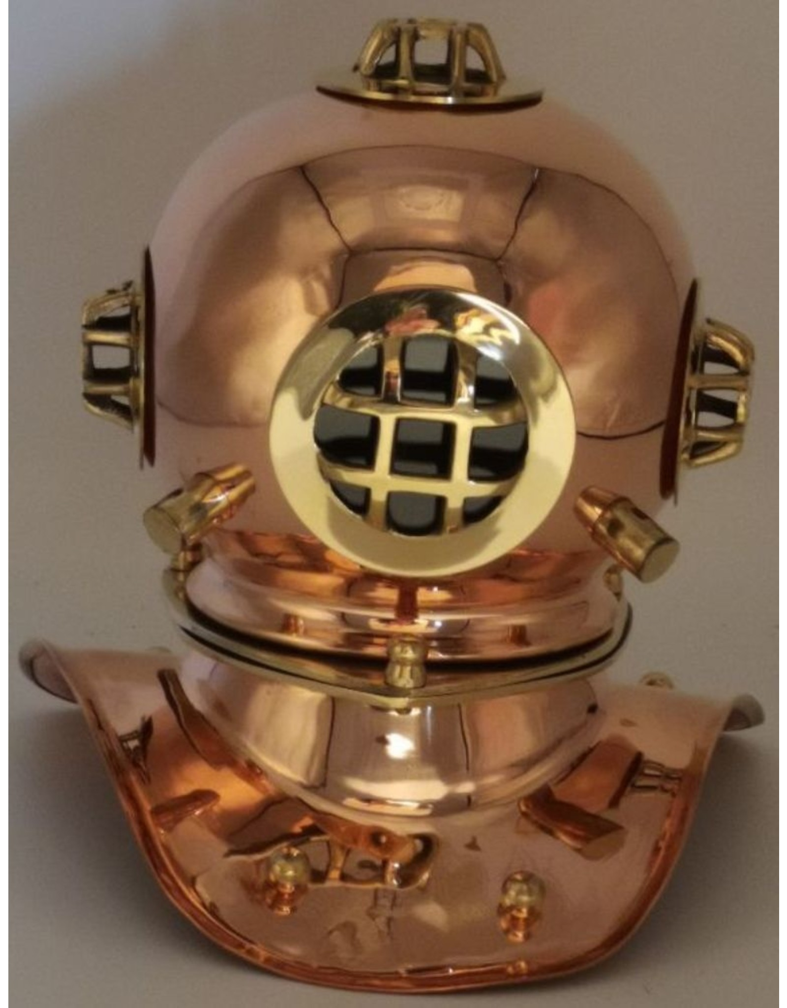 Trukado Giftware & Lifestyle - Diving helmet home decoration - copper