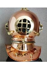 Trukado Giftware & Lifestyle - Duikershelm woondecoratie - koper