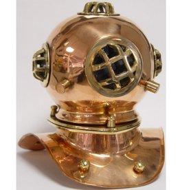 Trukado Diving helmet home decoration - copper