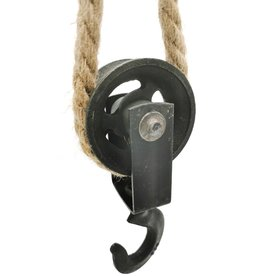 Iron Pulley on Jutte Rope