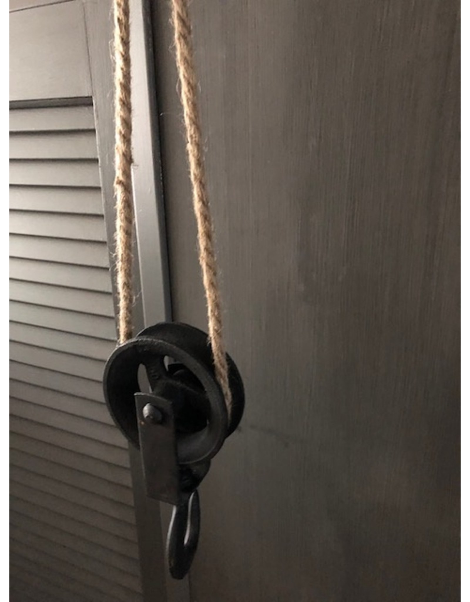 Trukado Miscellaneous - Iron Pulley on Jutte Rope