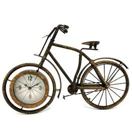 Trukado Bicycle Clock Metal Vintage look rust