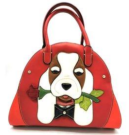 Magic Bags Fantasie tas hond met roos