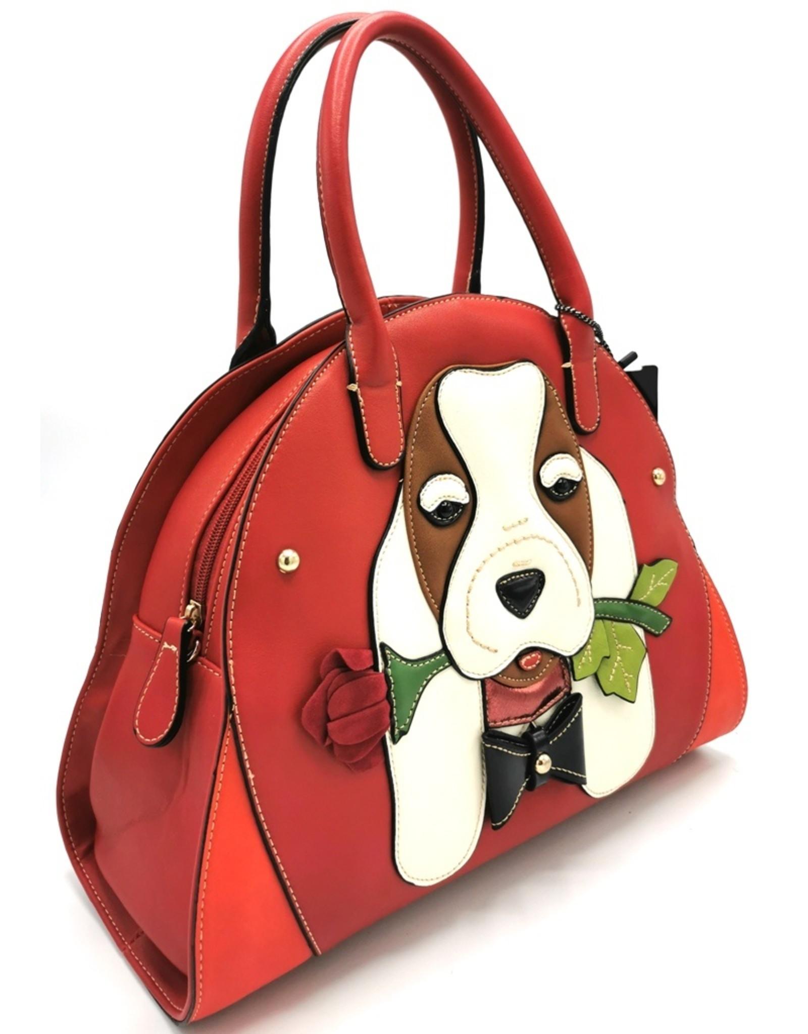 Magic Bags Fantasy tassen - Fantasy tas Hond met Roos
