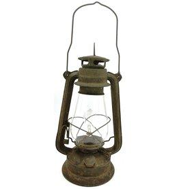 Trukado Stormlantaarn metaal roest Vintagelook (LED-licht)