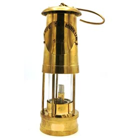 Trukado Oil lamp Miner's lamp Vintage  look - Brass