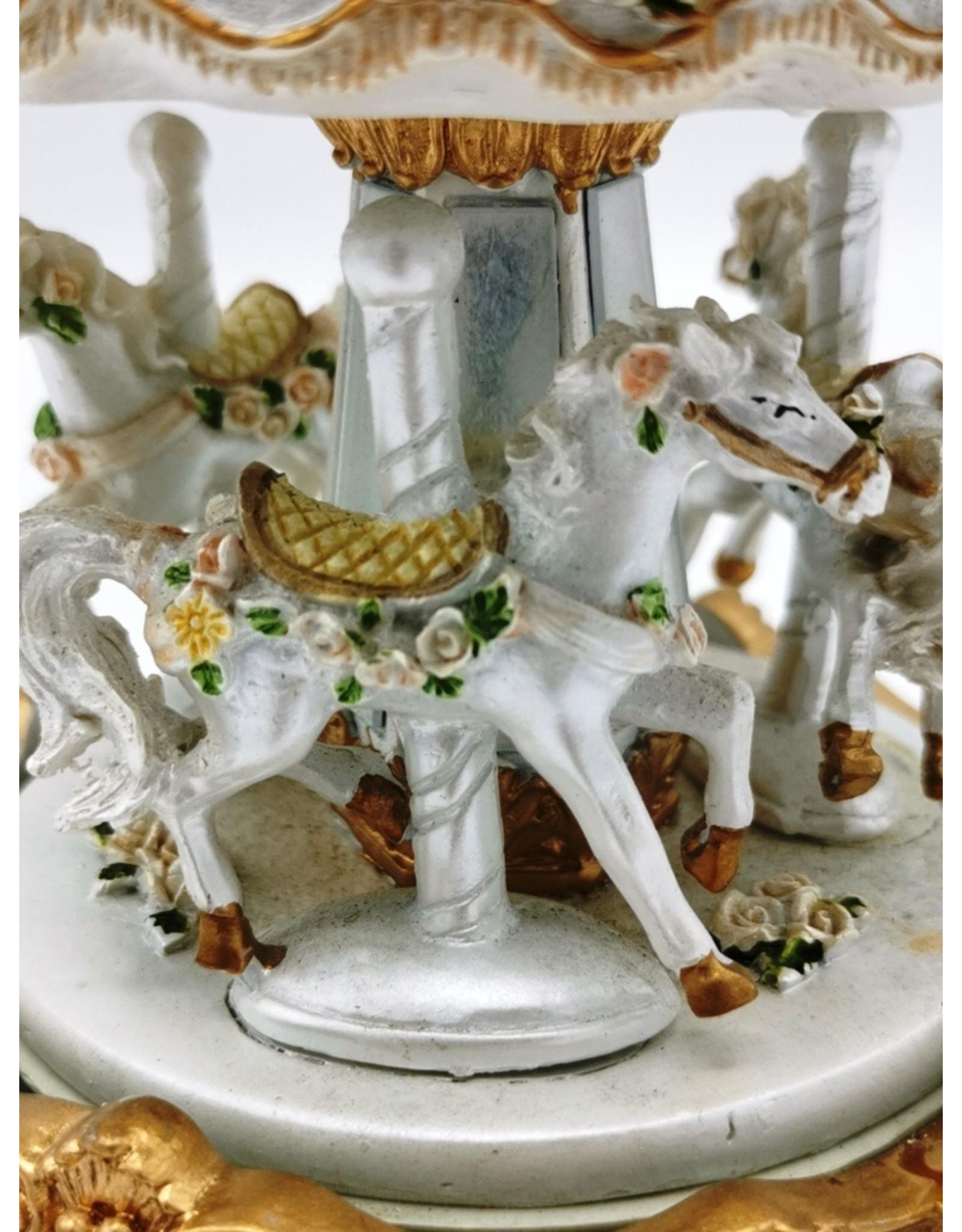 SH Giftware & Lifestyle - Muziekdoos Vintage Carrousel  (medium)