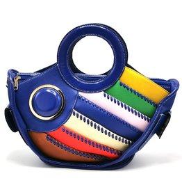 Angelo Fantasy Handbag Fishroyal blue
