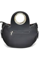Angelo Fashion Handbags and Shoulderbags -  Flower Power Handbag Flower black