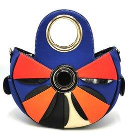 Angelo Flower Power Handbag Flower blue