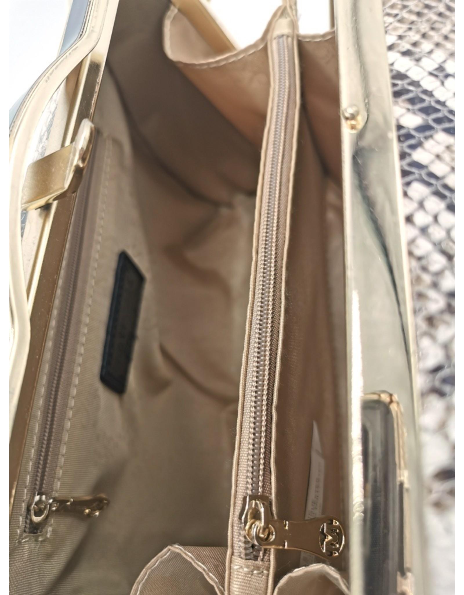 Lantadeli Retro bags  Vintage bags - Handbag with Snake print Vintage Style