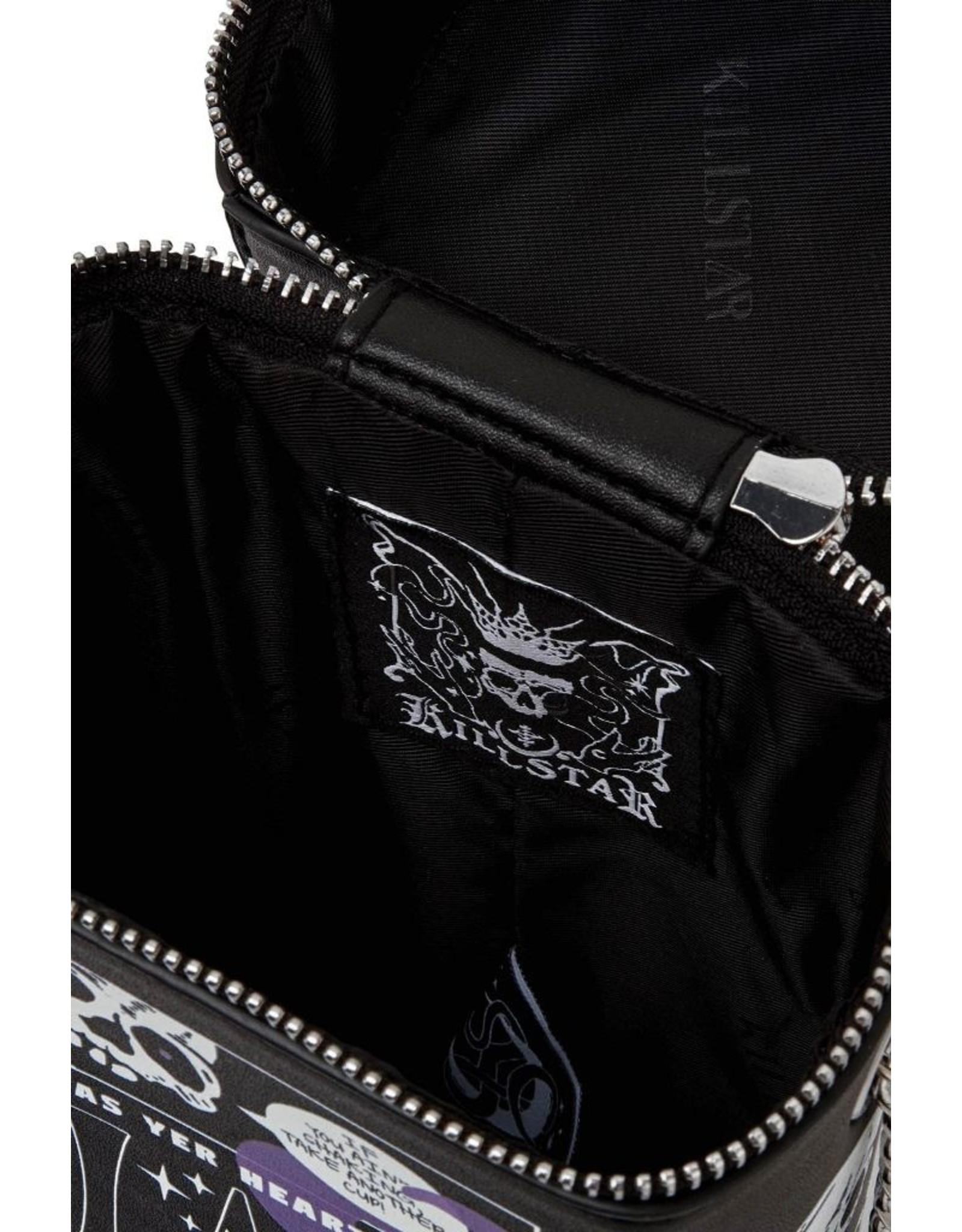 Killstar Killstar tassen en accessoires - Killstar Black Magic handtas