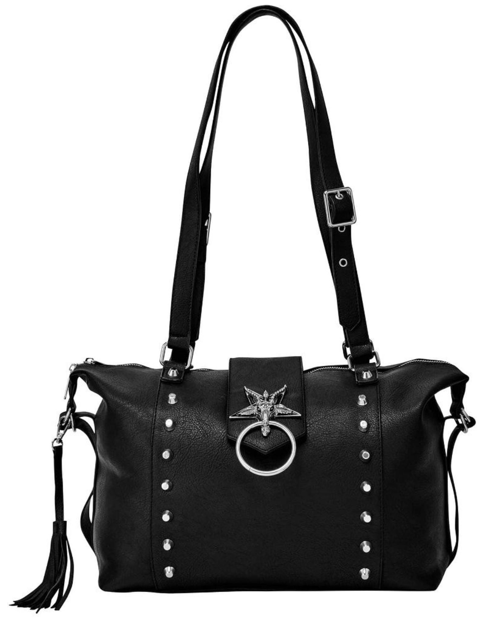 Killstar Killstar tassen en accessoires - Killstar Baphomet shopper Brimstone