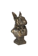 Trukado Giftware Figurines Collectables - Bulldog aristocrat statue 15cm (bust)