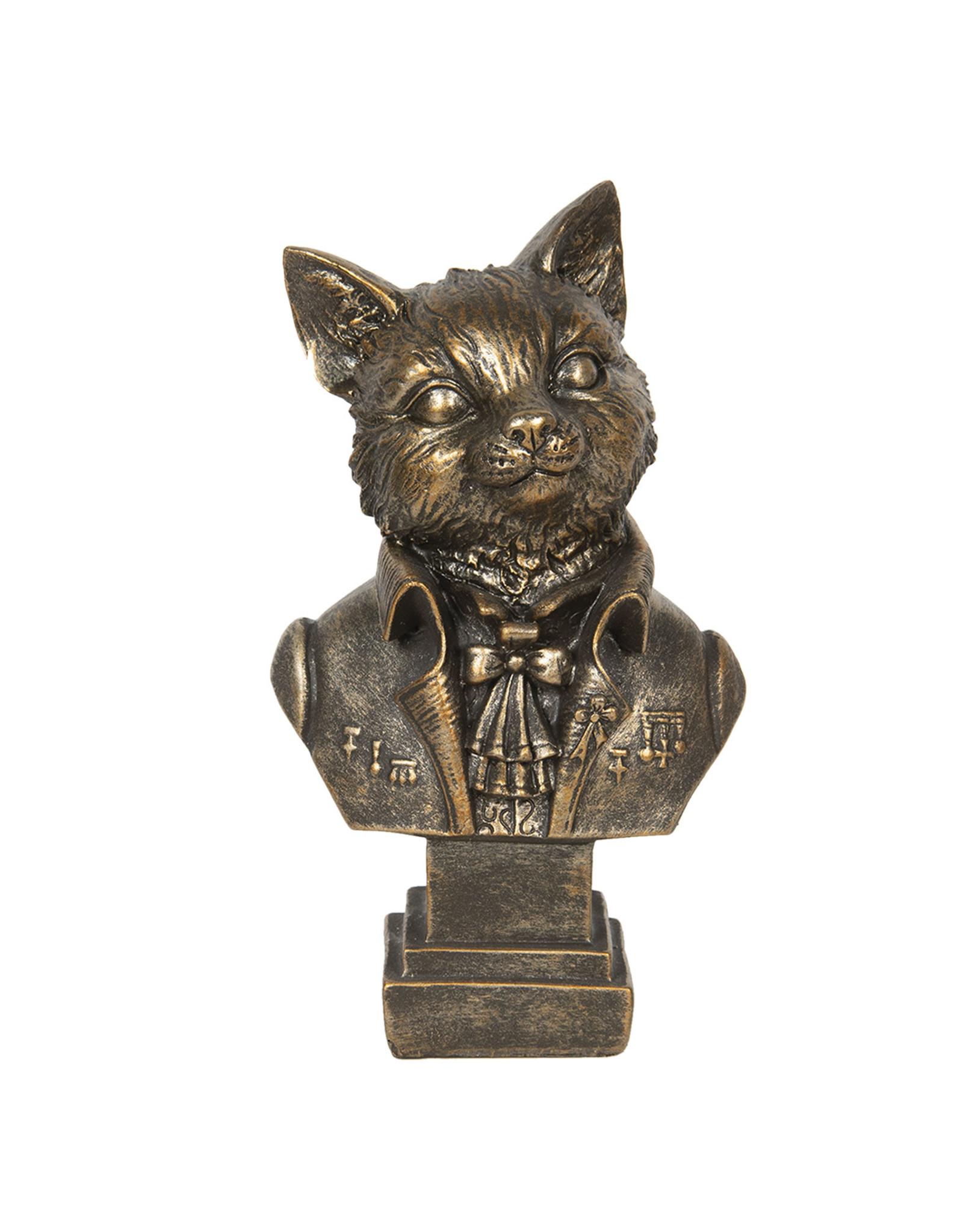 Trukado Giftware Beelden Collectables - Kat aristocraat beeld 24cm (buste)