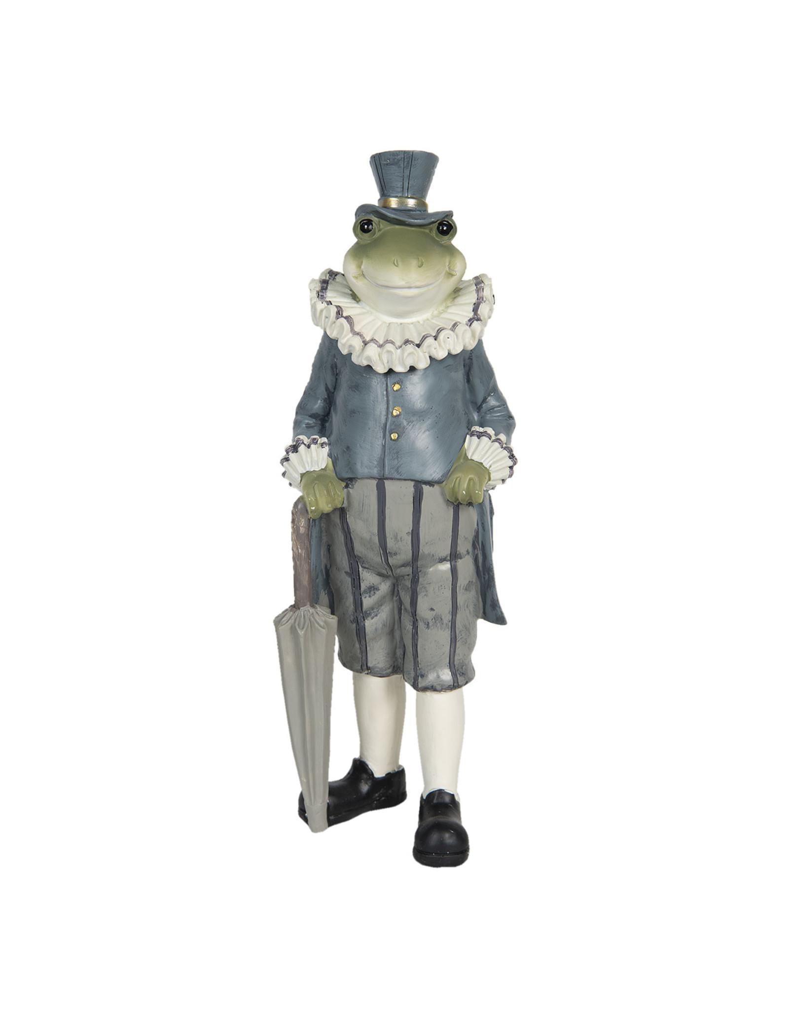 Trukado Giftware Figurines Collectables - Frog with umbrella figurine 27cm