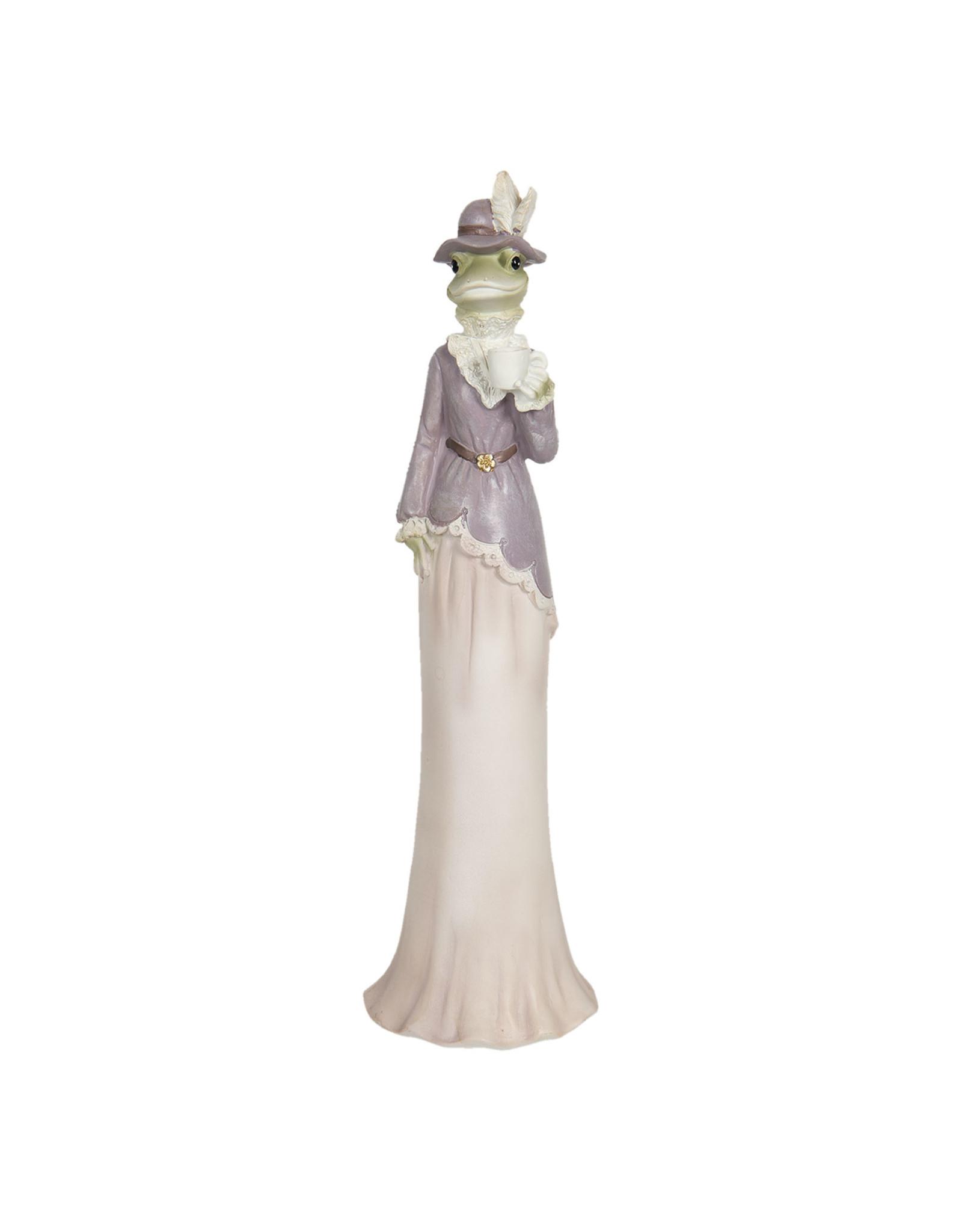 Trukado Giftware Beelden Collectables  - Kikker dame beeld 32cm