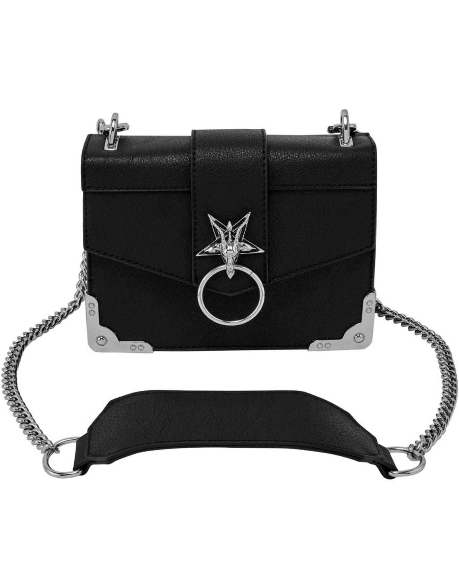 Killstar Killstar bags and accessories - Killstar Baphomet handbag Fire Me Up