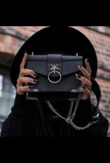 Killstar Killstar tassen en accessoires - Killstar Baphomet handtas Fire Me Up