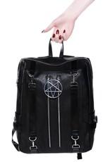 Killstar Killstar tassen en accessoires - Killstar  Pentagram rugzak Hell Awaits
