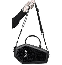 Killstar Killstar Vampire's Kiss coffin handbag (black)