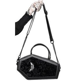 Killstar Killstar Vampire's Kiss doodskist handtas (zwart)