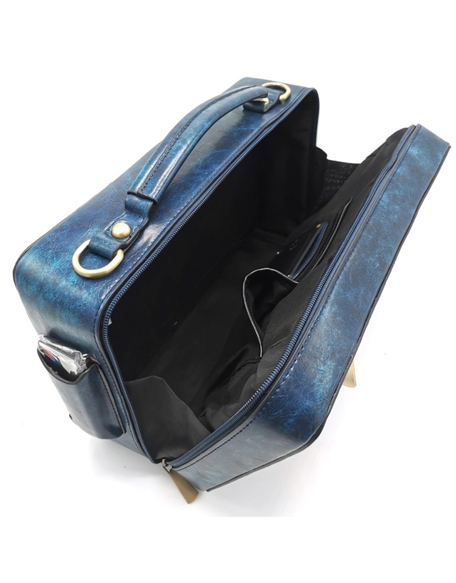 Eliox Fantasy bags and wallets - Boombox Retro Radio Handbag with Real Radio blue