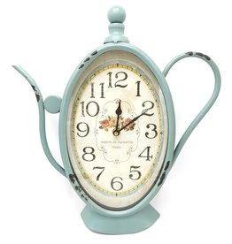 Brocante Wall Clock Coffee Can