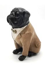 Trukado Giftware, beelden, collectables - Engelse Bulldog  Retro beeldje 16cm