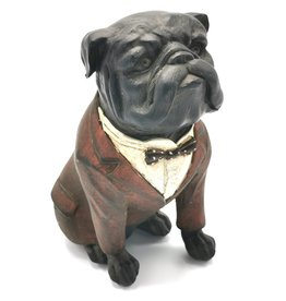 Trukado Engelse Bulldog  Retro beeldje 16cm