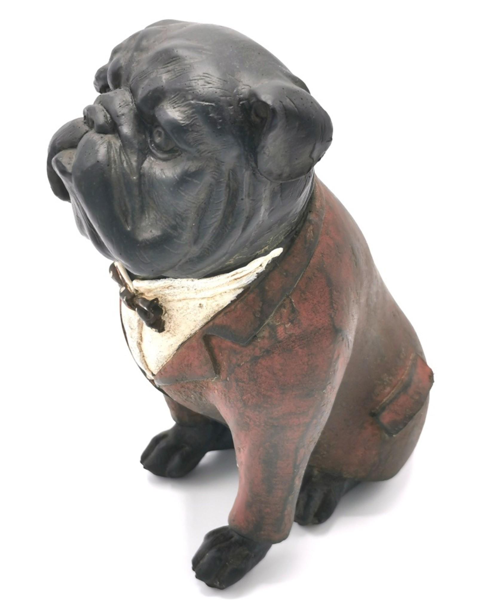 Trukado Giftware Figurines Collectables - English Bulldog  Retro figurine 16cm