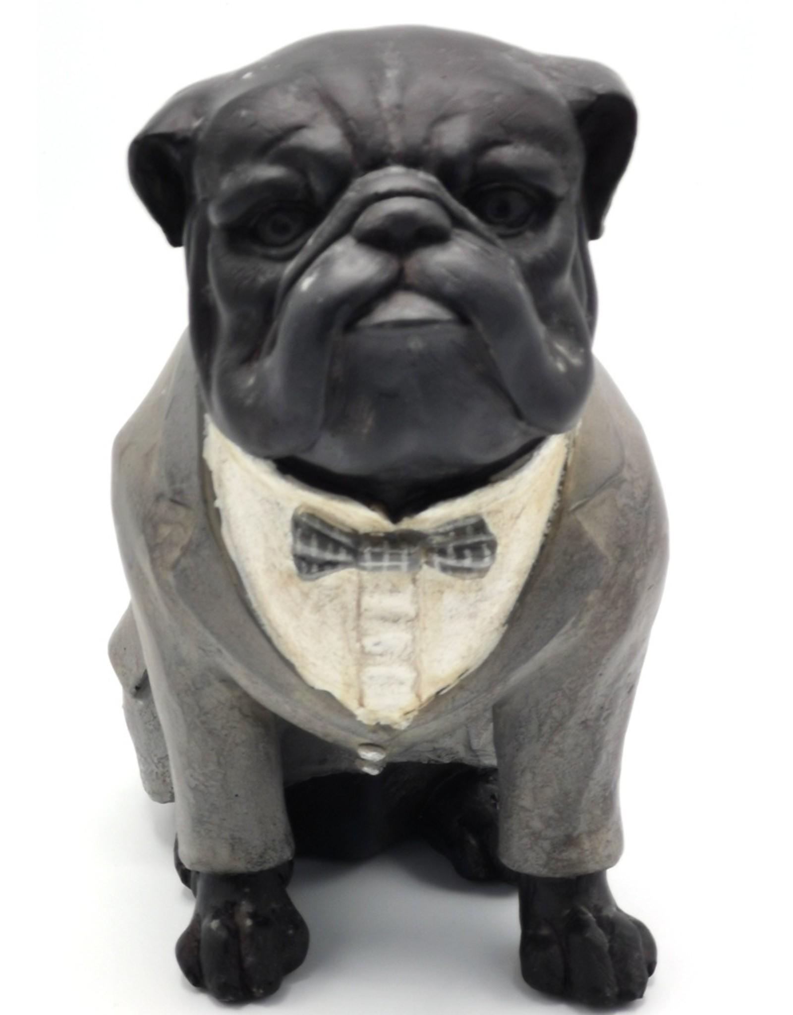 Trukado Giftware Figurines Collectables - English Bulldog  Retro statue 21cm