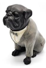 Trukado Giftware, beelden, collectables - Engelse Bulldog  Retro beeld 21cm