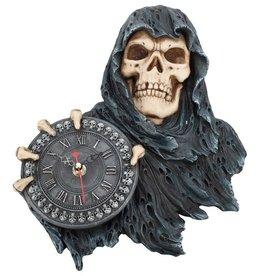 NemesisNow Gothic klok reaper Face of Time