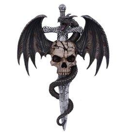 Nemesis Wall plaque Draco Skull