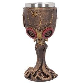 Nemesis Steampunk Goblet Mechanical Cephalopod