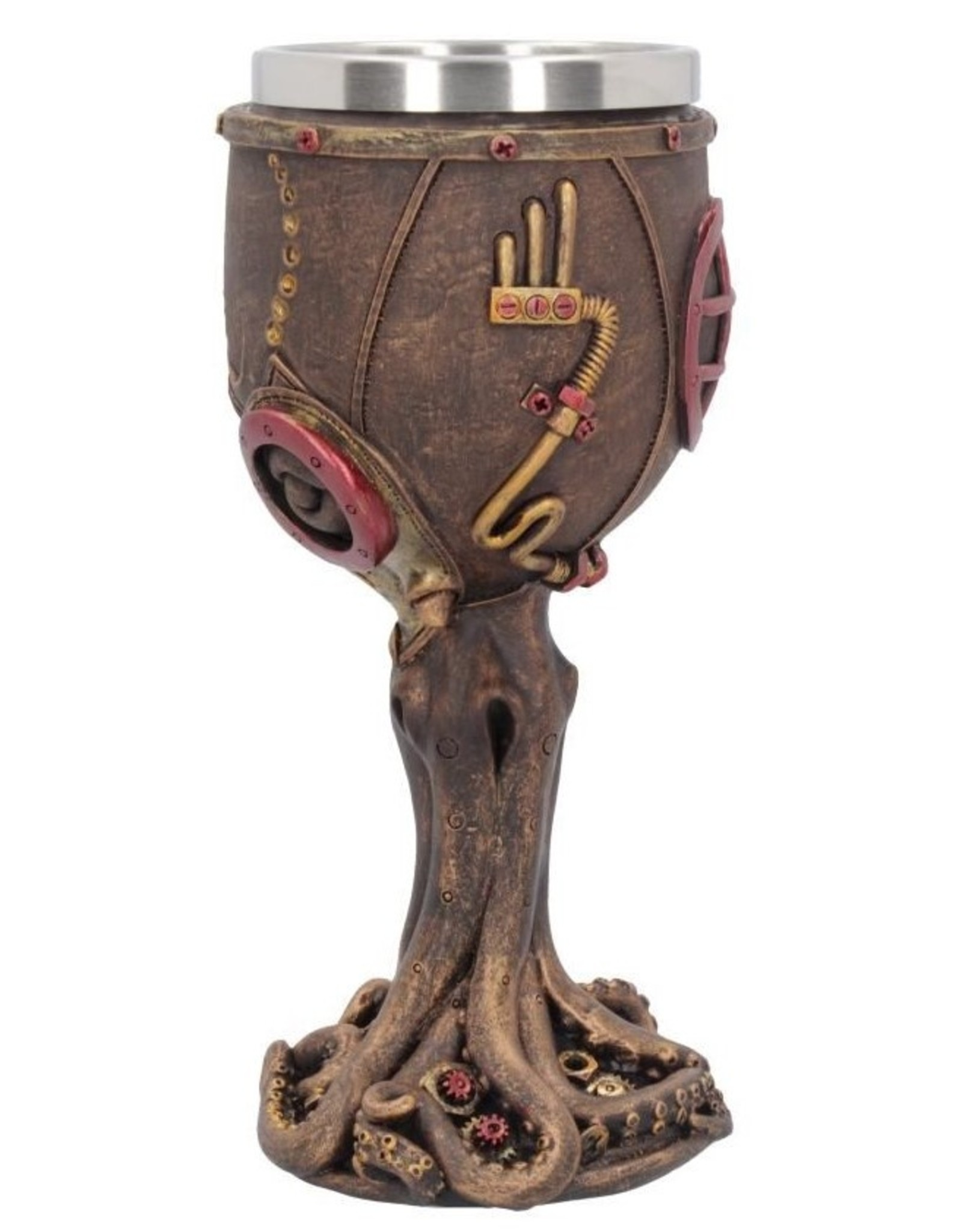 Nemesis Tankards and Goblets - Steampunk Goblet Mechanical Cephalopod