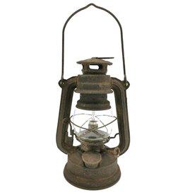 Stormlantaarn Vintagelook Stormlantaarn Vintagelook metaal - klein met LED-licht