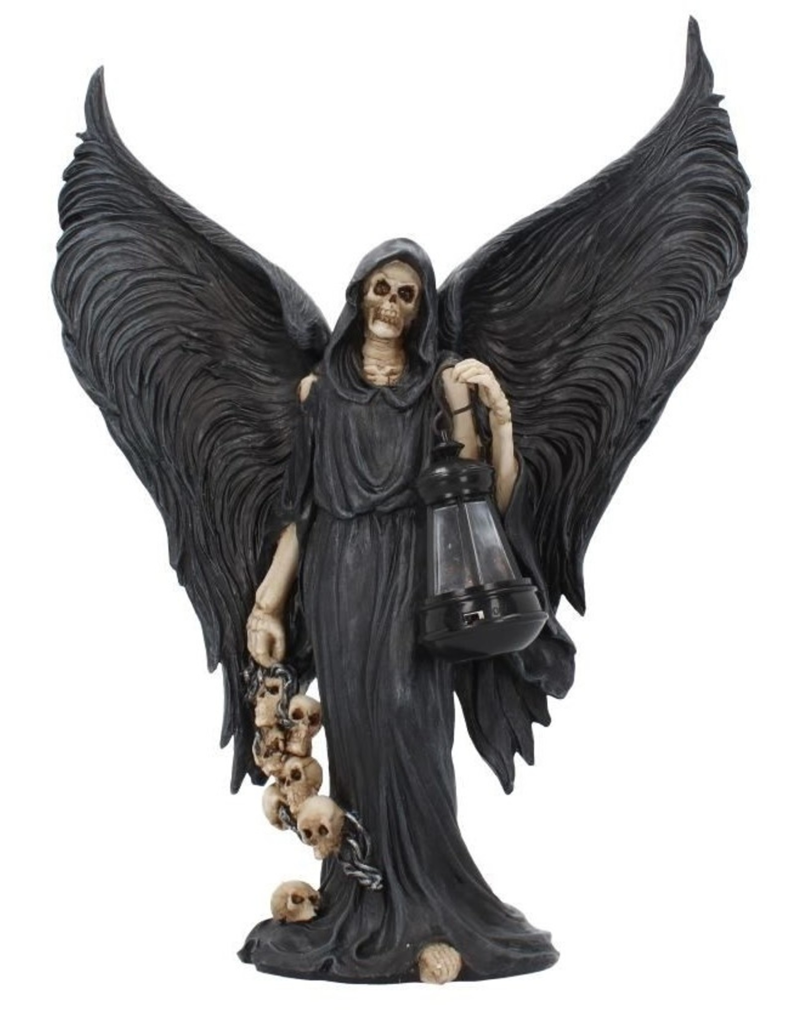 NemesisNow Giftware Beelden Collectables  - Beeld The reaper's search met echte lamp 34,5cm