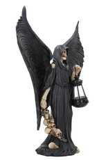 NemesisNow Giftware Figurines Collectables - Figurine The reaper's search with real lamp 34,5cm