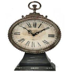 Tafelklok vintage style Vintage Style Standing Clock (metal)