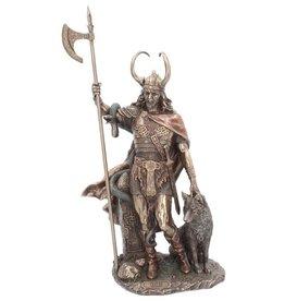 NemesisNow Loki Gebronsd beeld 35cm