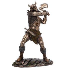 NemesisNow Berseker Bronzed figurine 28,5cm