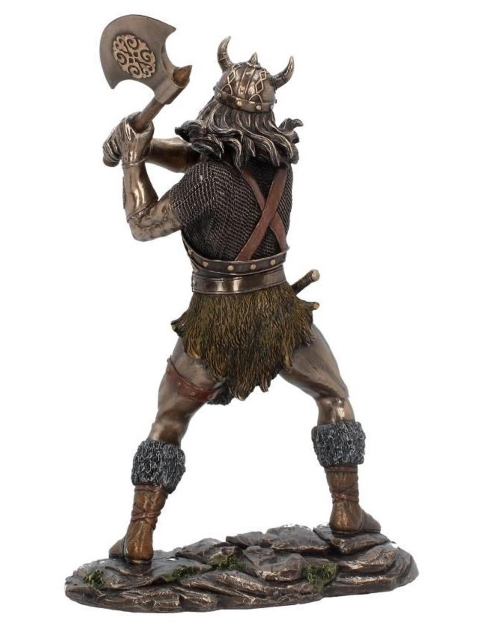 NemesisNow Giftware Figurines Collectables - Berseker Bronzed figurine 28,5cm